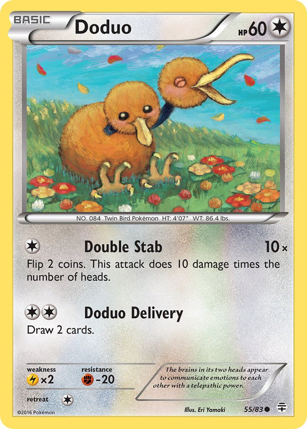 Doduo - 55/83 - Generations - Card Cavern