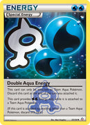 Double Aqua Energy - 33/34 - Double Crisis - Card Cavern