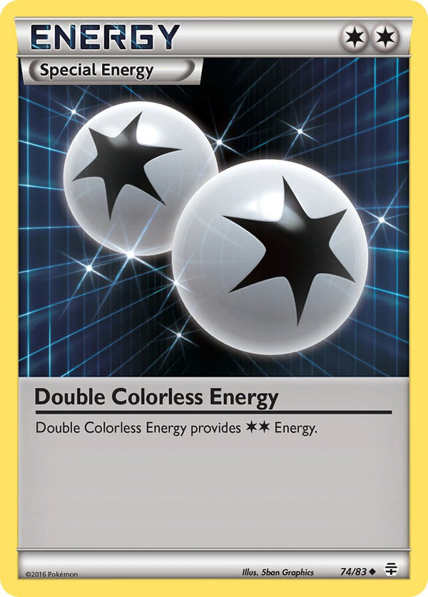 Double Colorless Energy - 74/83 - Generations - Card Cavern