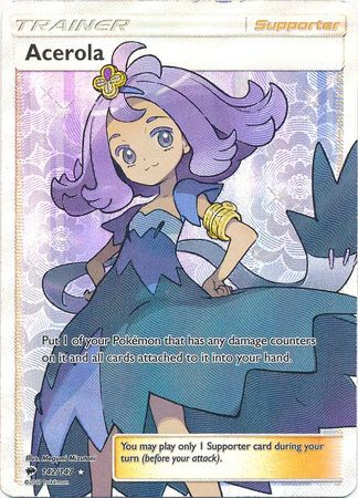 Acerola Full Art - 142/147 - Burning Shadows - Card Cavern