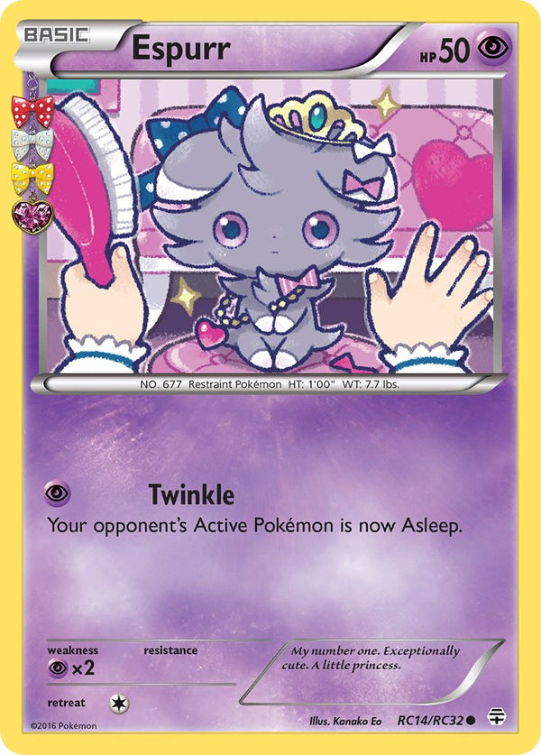 Espurr - RC14/RC32 - Generations: Radiant Collection - Card Cavern