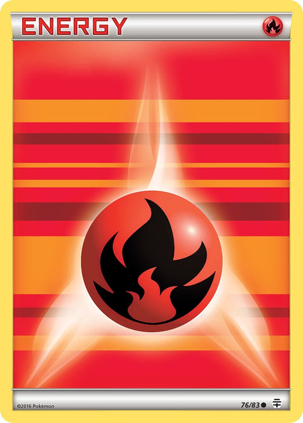 Fire Energy - 76/83 - Generations - Card Cavern