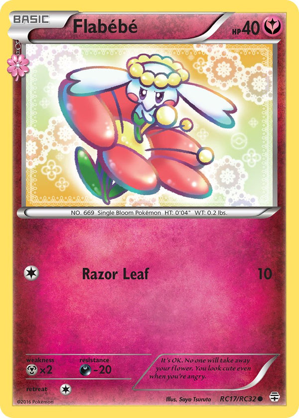 Flabebe - RC17/RC32 - Generations: Radiant Collection - Card Cavern