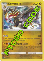 Clanging Thunder Theme Deck - Crimson Invasion - PTCGO Code