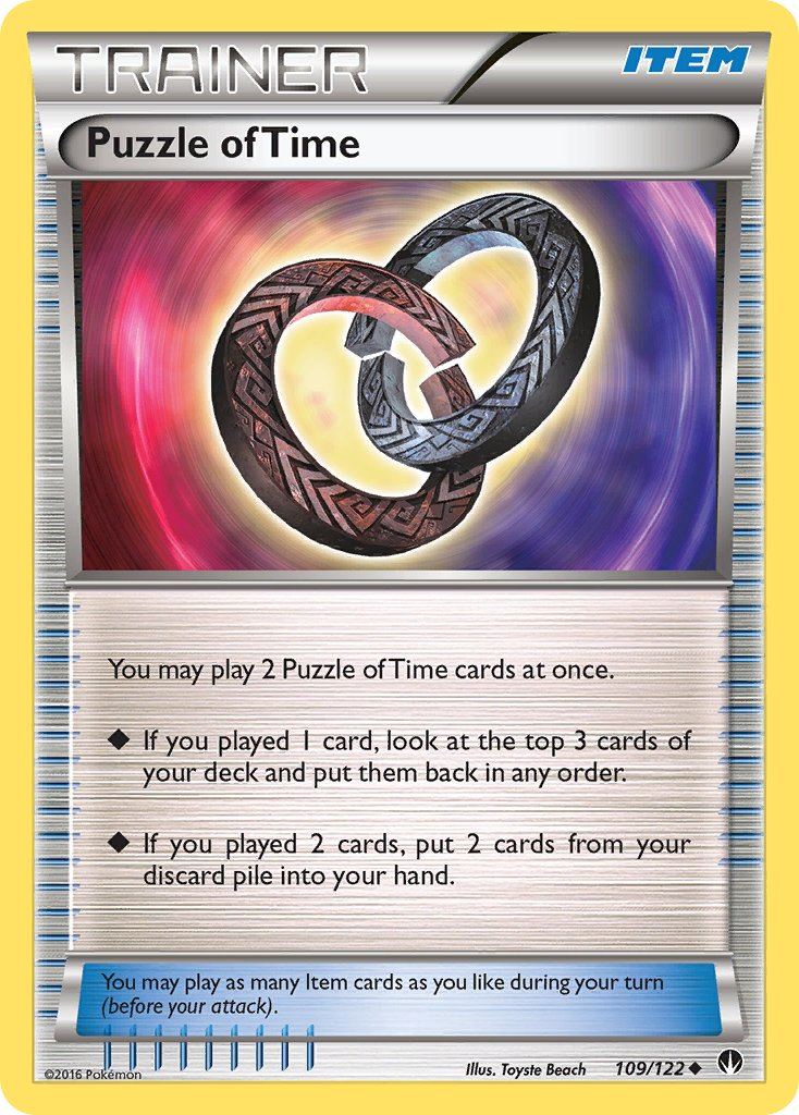 Puzzle of Time - 109/122 - BREAKpoint - Card Cavern