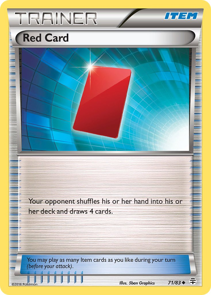 Red Card - 71/83 - Generations - Card Cavern