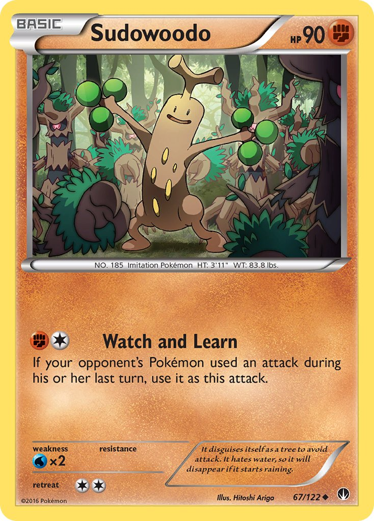 Sudowoodo - 67/122 - BREAKpoint - Card Cavern