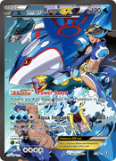 Team Aqua's Kyogre EX - 6/34 - Double Crisis - Card Cavern