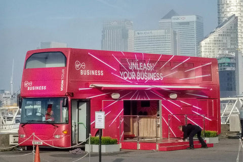 Virgin start up VOOM truck