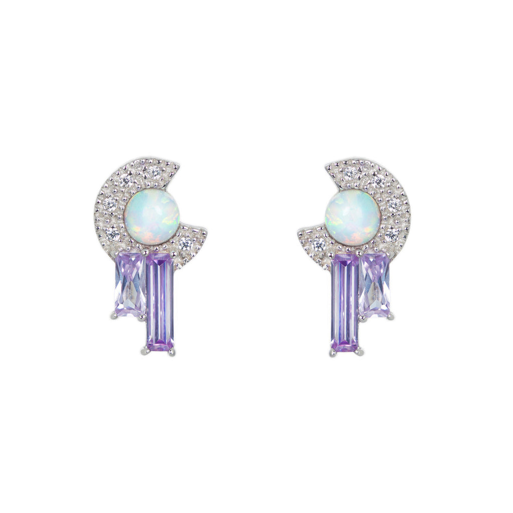 Robyn earrings in lavender