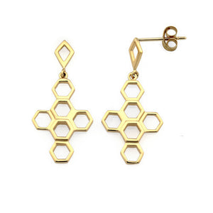 Vita Hive Drop Earrings