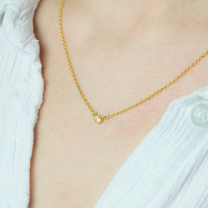 Lone Star Diamond Necklace