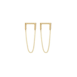 Gold Industria Earrings