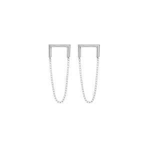 Silver Industria Earrings