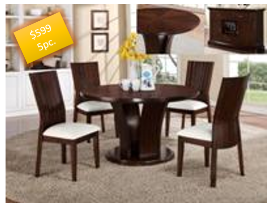 5pc dining table set $599 & 5pc dining table set $599 u2013 UR FURNITURE CENTER