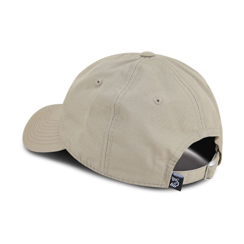 Relaxed Ripstop USA Flag Dad Hat with Brass Buckle Closure