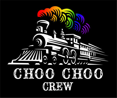 CHOO CHOO CREW TRAIN DECAL