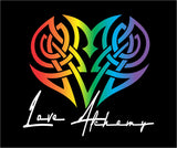 LOVE ALCHEMY LOGO DECAL