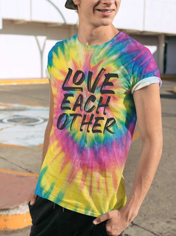 LOVE EACH OTHER TIE DYE