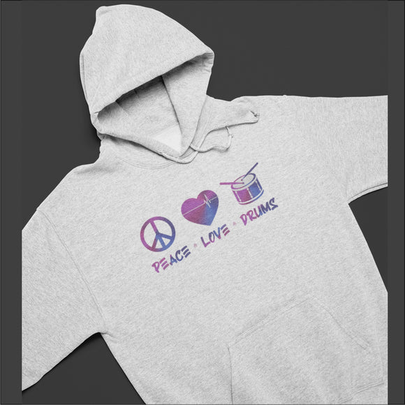 PEACE LOVE AND RUMS SWEATSHIRT GREY /Crew/Hoodie