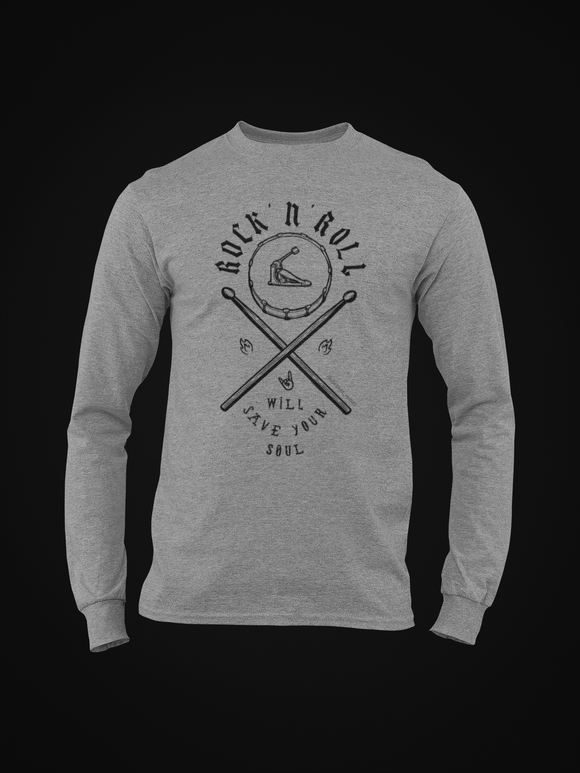 ROCK N' ROLL SOUL SWEATSHIRT / LONG SLEEVE TEE