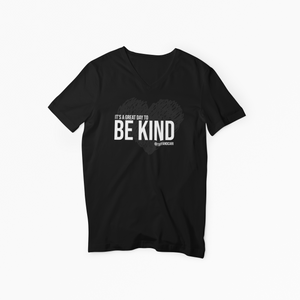 Be Kind V-neck tee