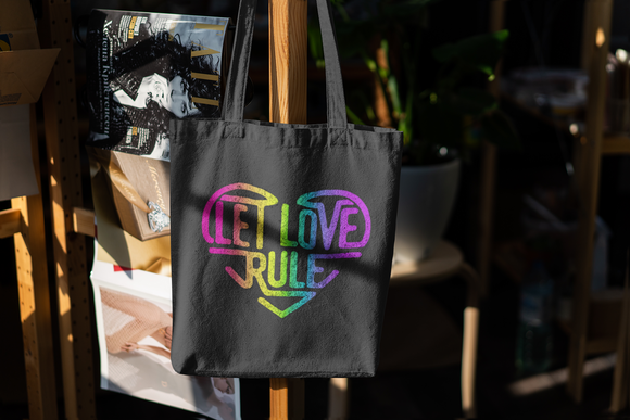 LET LOVE RULE TOTE