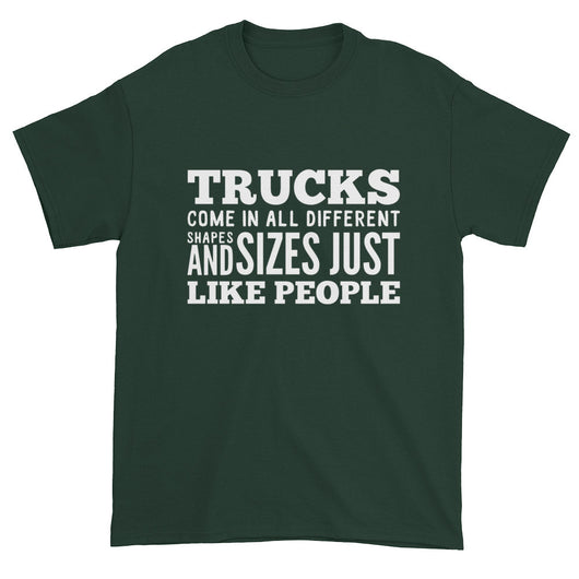 Trucks Like People Short Sleeve T-shirt