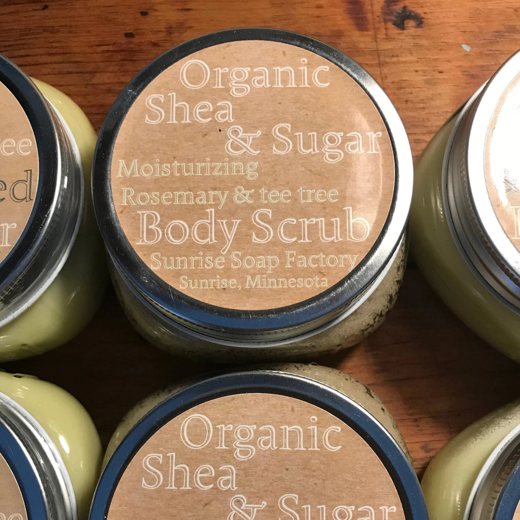 Shea & Sugar Body Scrub