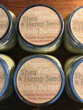 Load image into Gallery viewer, Shea + Hempseed Body Butter 6.5oz.