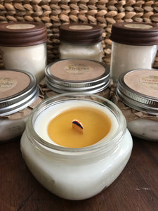 Organic Hemp-Wick Soy Candles