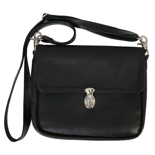 Black carry concealed purse