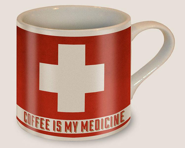 Coffee is my Medicine - Ceramic Mug