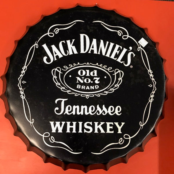 Jack Daniel's large tin sign