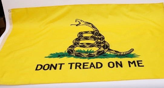 3x5 ft Don't tread on me flag (Gadsden Flag)