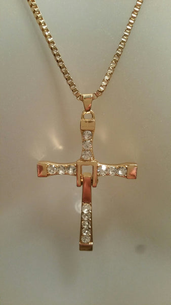 F&F Cross gold
