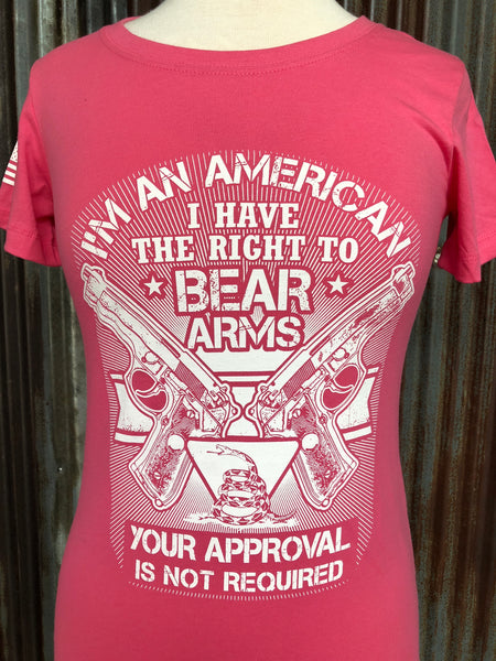 Ladies I'm an American (Pink)