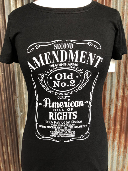 Ladies Second Amendment T-shirt