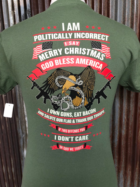 Politically incorrect (Green)