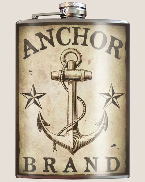 Anchor Brand - Flask