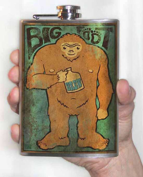 Big foot - Flask