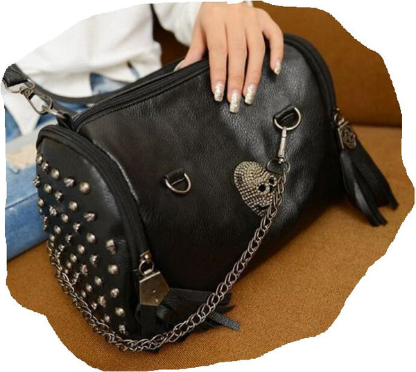 Unique Black Women Skull Handbags