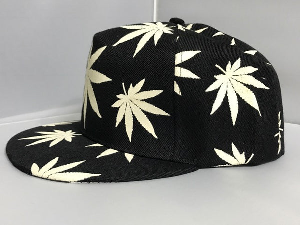 White 420 snap back