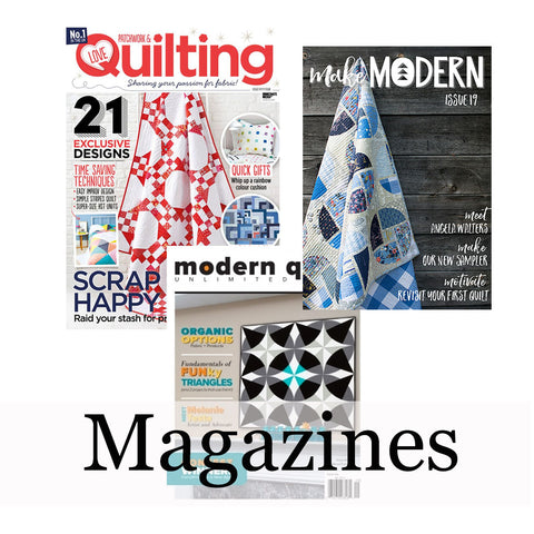 Magazines - Christmas ideas for quilters