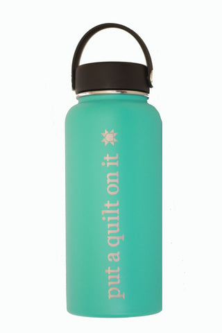 Hydro Flask water bottle from Put a Quilt on It