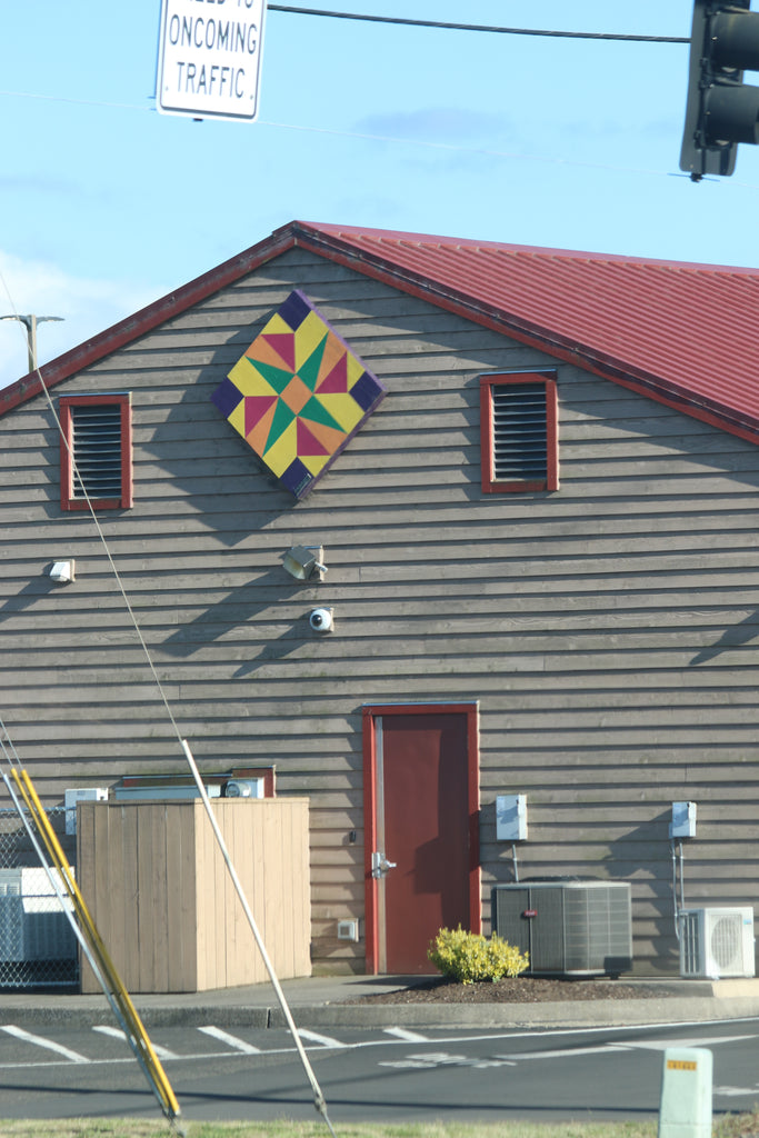 Oregon Coast Bank Tillamook County Barn Quilt Trail
