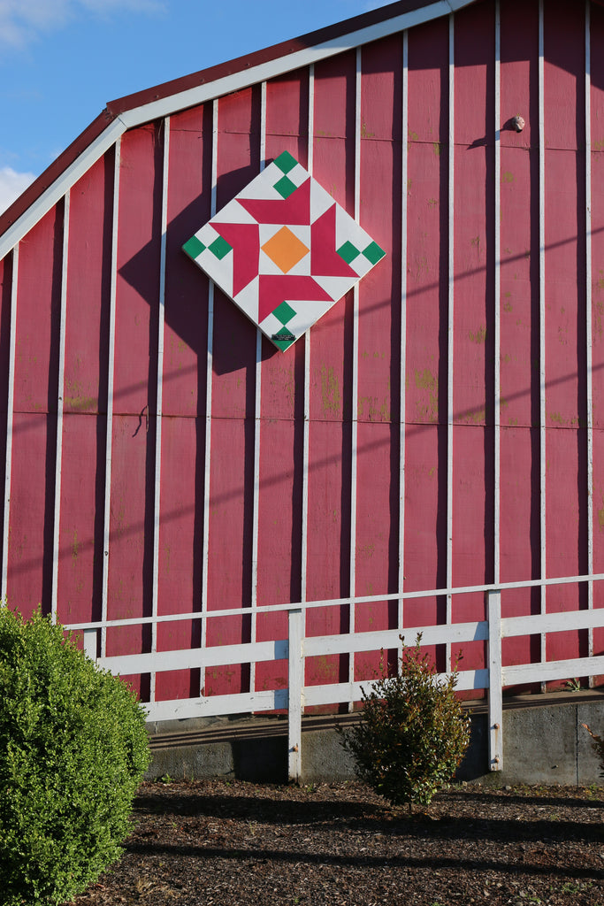 Tillamook Barn Quilt tour by Put a Quilt on It