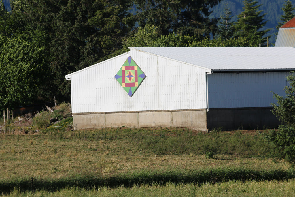 Tillamook Oregon Barn Quilt Road Trip with Put a Quilt on It