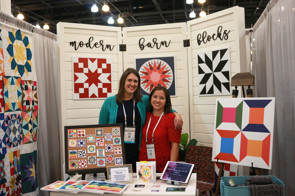 Katie Blakesley at Quiltcon 2018