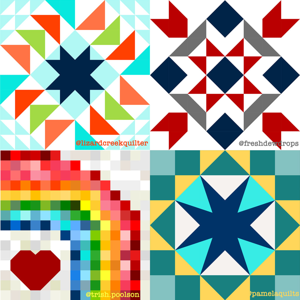 Finalists for the Put MY Quilt on It contest